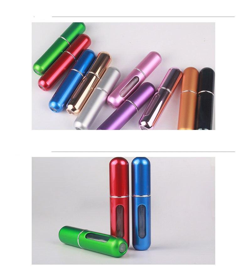 Bouteille de parfum rechargeable portable