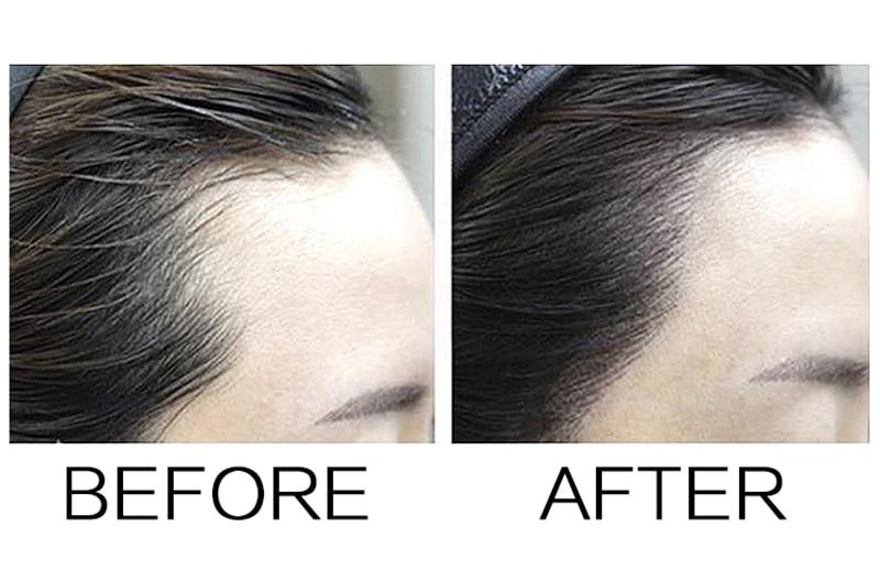 Poudre de retouche de racine de cheveux