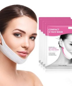 Masque facial lifting anti-âge en forme de V