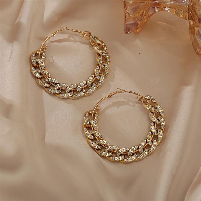 Boucles d'oreilles rondes pour femmes